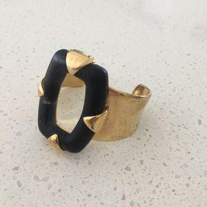 Alexis Bittar Lucite & Metal Bracelet